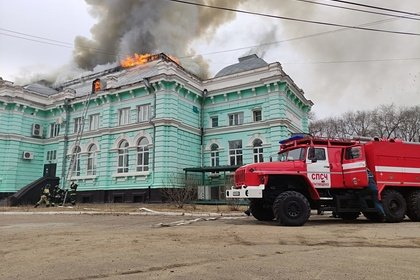 Российские хирурги провели операцию в горящем кардиоцентре