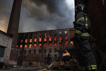 МЧС опровергло гибель второго сотрудника при пожаре на «Невской мануфактуре»