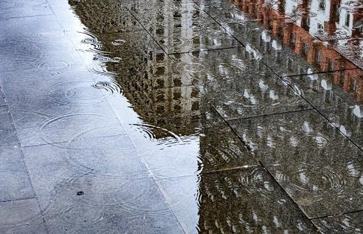 Москвичей предупредили о дождях с грозами до утра 1 мая