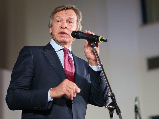 Пушков удивился реакции Зеленского на марш в честь фашистов в Киеве