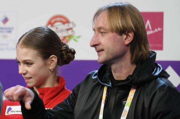 Плющенко объявил о возвращении Трусовой к Тутберидзе