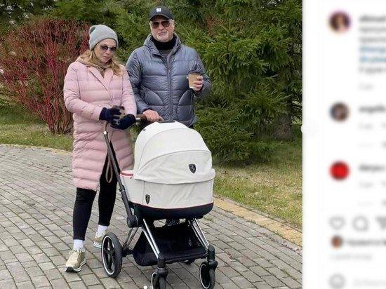 Стало известно имя новорожденной дочери Меладзе и Джанабаевой
