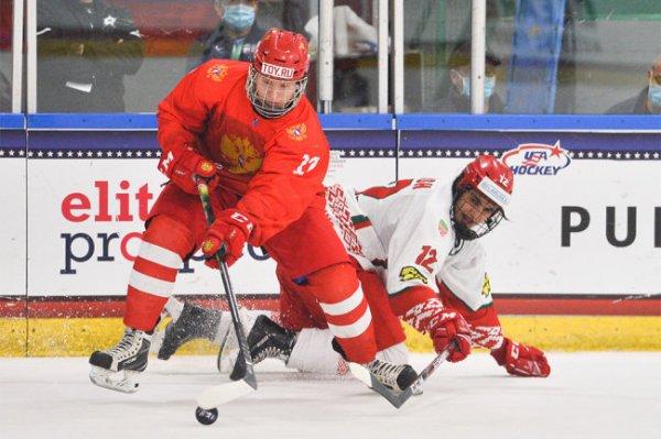 Российские хоккеисты сыграют с Финляндией в полуфинале юниорского ЧМ