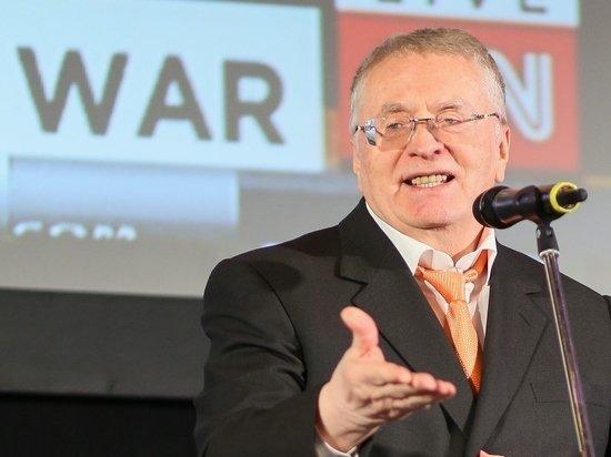 Жириновский перепел песню «Любимый город» вслед за Линдеманном