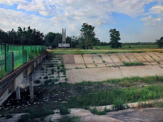 На Украине рассказали о разрушении перекрывающей воду в Крым дамбы
