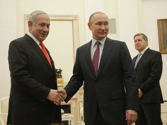 Путин созвонился с премьер-министром Израиля Биньямином Нетаньяху