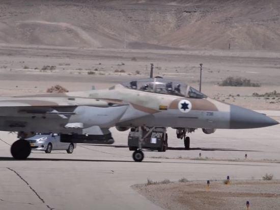 Израильская авиация нанесла удары по палестинскому городу Бейт-Ханун