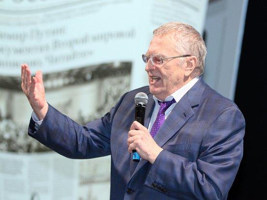 Жириновский заявил в Госдуме о