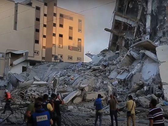 В секторе Газа за три дня погибли более ста человек