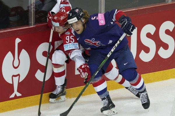 Великобритания набрала первое в истории очко на чемпионате мира по хоккею