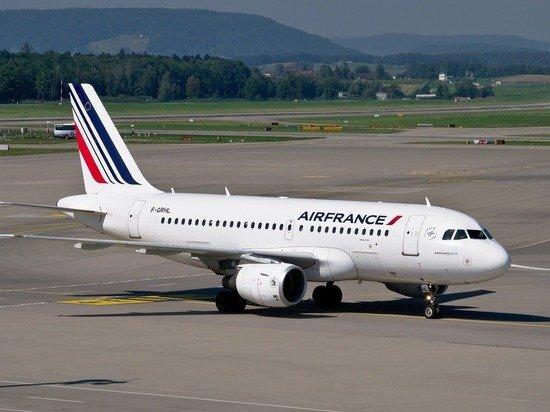 Air France впервые за неделю совершит рейс между Парижем и Москвой