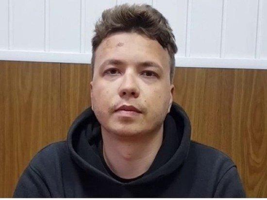 Белорусские СМИ опубликовали видео с «плотно поужинавшим» Протасевичем
