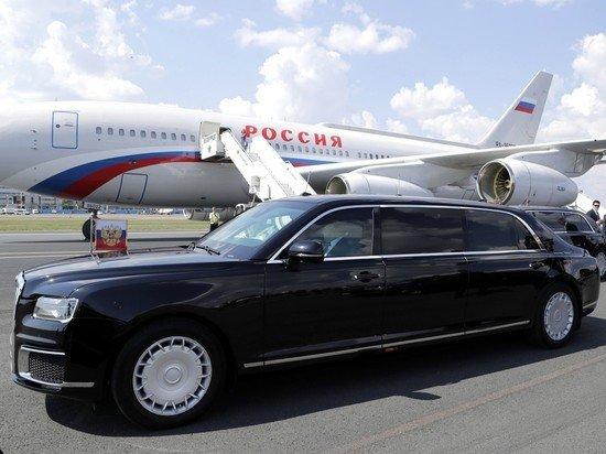 В Женеву привезли лимузины Путина и Байдена