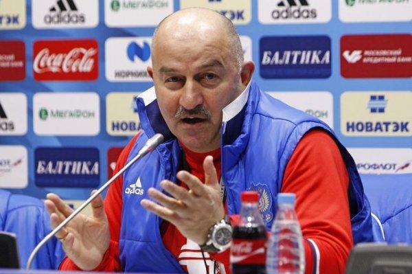 Черчесов прокомментировал поражение сборной России по хоккею