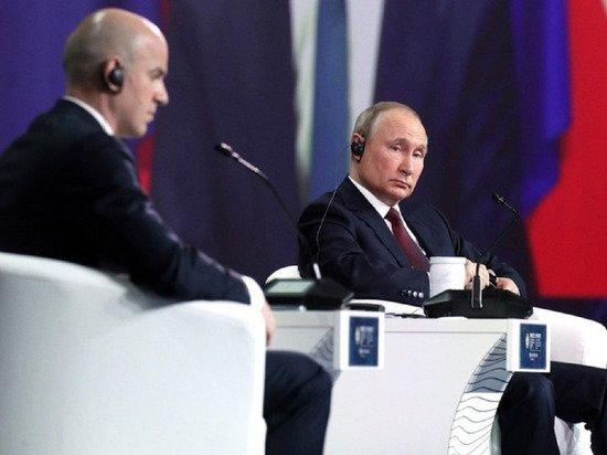 «Это я сказал?»: Путин не вспомнил своих слов о «душащей жесткой руке»