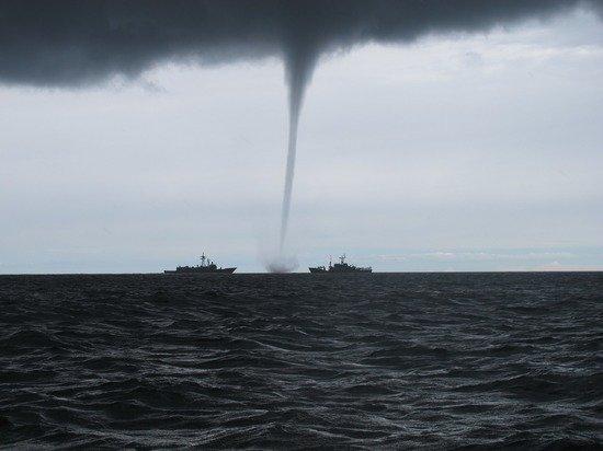 Сезон смерчей в Черном море начался на три месяца раньше обычного