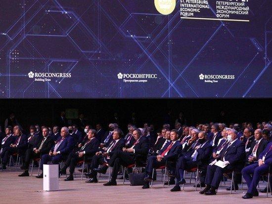 Иностранных инвесторов на ПМЭФ лишили ужина с Путиным