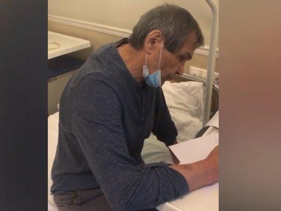 Врачам пришлось разрезать спину Бари Алибасову: