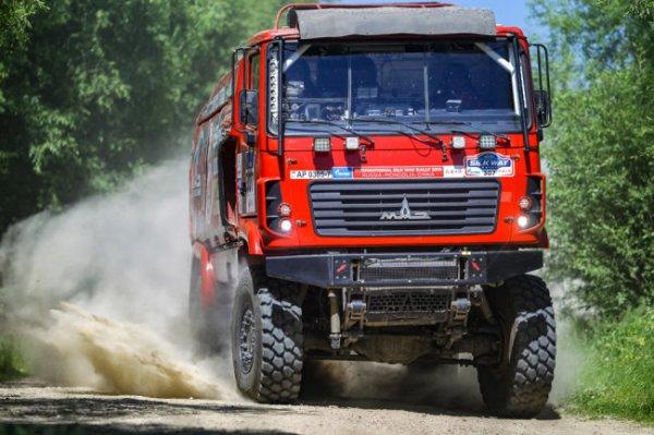 Белорусская команда МАЗ примет участие в ралли