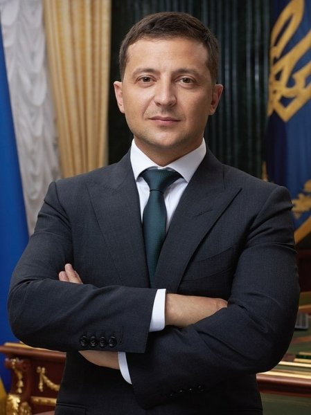 Президент Зеленский отправился на передовую в Донецкую область