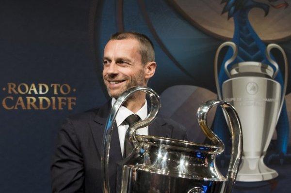 Глава УЕФА ждет захватывающей борьбы на чемпионате Европы
