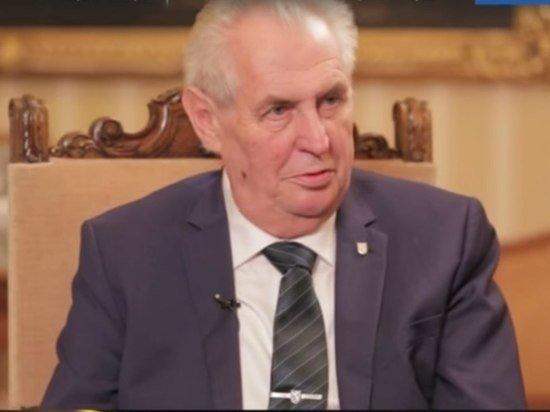 Земан предложил Тихановской открыть в Чехии представительство