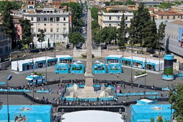 Как Рим готовится к открытию Евро-2020