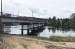 На федеральной трассе А-181 под Выборгом открыто рабочее движение по новому мосту через Вуоксу