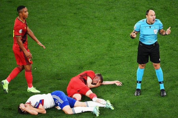 Бельгиец Кастань не сыграет на Евро из-за травмы