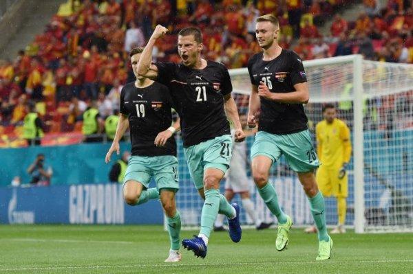 Австрия переиграла Северную Македонию в матче Евро-2020