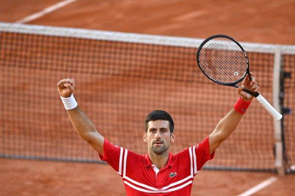 Джокович второй раз в карьере выиграл