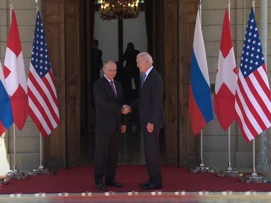 Путин и Байден завершили переговоры в узком составе