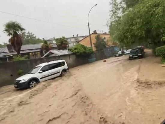 Мэр затопленной Ялты попросила жителей запастись водой