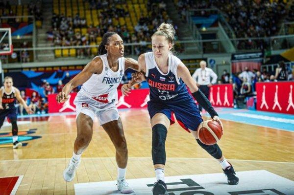 Россиянки в 1/8 финала Евробаскета сразятся со Словенией