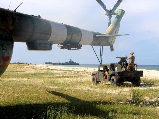 Войска Украины отработали на учениях высадку десанта в Крыму