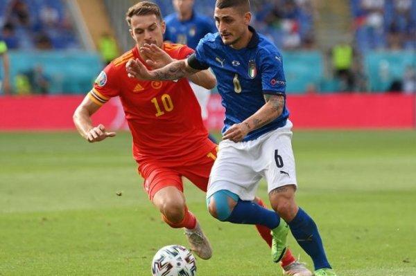 Сборная Италии победила во всех трех матчах в группе
