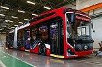 В Петербурге состоялся предпремьерный показ нового электробуса «Пионер»