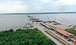 На Волжском мосту в Самарской области началась надвижка пролётов