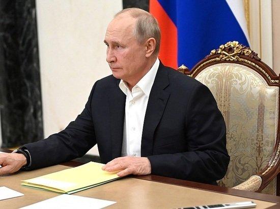 Путин поблагодарил