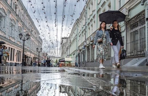 Дефицит осадков и температура чуть выше нормы ожидаются в июле в Москве