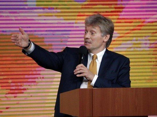 Песков ответил на слова Зеленского об украинском флаге над Госдумой