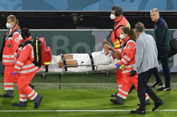 Защитник сборной Италии порвал ахилл в матче с Бельгией
