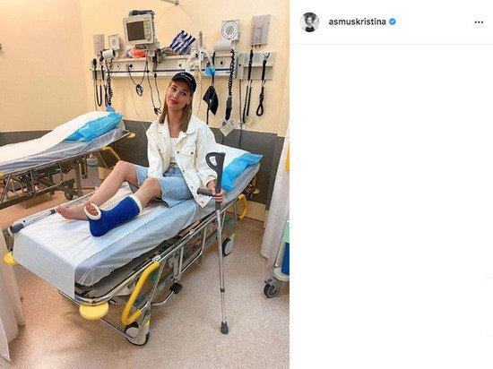 Кристина Асмус напугала фанатов снимком из больницы