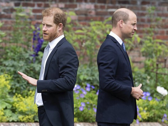 Стали известны подробности разрыва принца Гарри с братом Уильямом