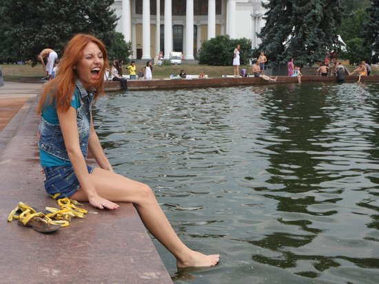 Жара в 33 градуса накроет Москву на следующей неделе