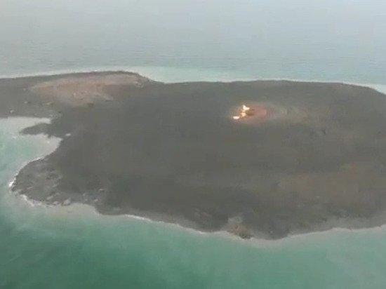 Огонь над Каспийским морем: спавший 76 лет вулкан напугал азербайджанцев