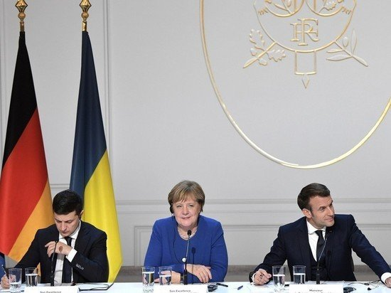 Украина возложила ответственность на Францию и Германию за потерю Крыма