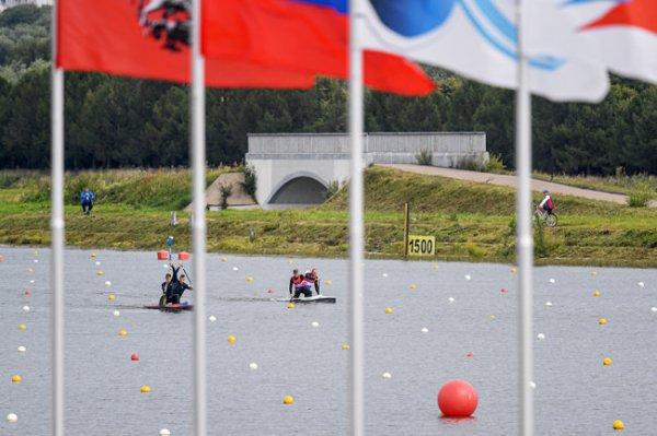 В Москве стартовал чемпионат Европы по гребле в дисциплине марафон