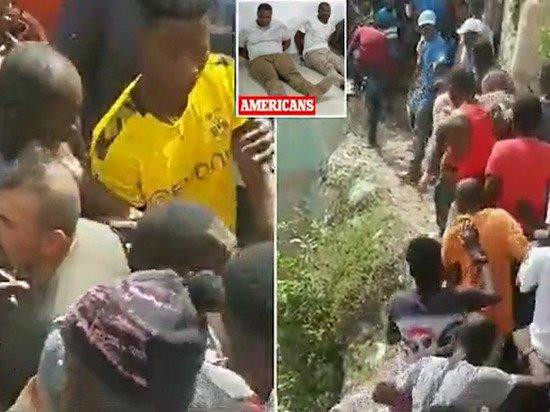 Задержанных за убийство президента Гаити били и тащили с помощью веревок