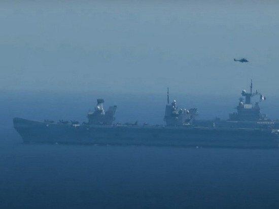 Черноморский флот раскрыл сценарий боя с кораблями НАТО